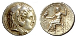 Ancient Coins - KINGS of MACEDON. Alexander III 'the Great'. Babylon mint. AR Tetradrachm. Struck circa 311-305 BC