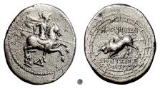 Ancient Coins - IONIA, Magnesia ad Maeandrum. AR Oktobol, circa 150-140 BC