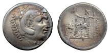 Ancient Coins - Alexander III 'the Great', CARIA, Alabanda. AR tetradrachm, dated CY 5 (163/2 BC)