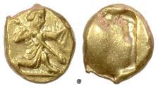 Ancient Coins - PERSIA, Achaemenid Empire. AV Daric, circa 420-375 BC. Persian running king
