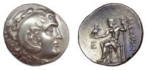 "Ancient Coins - LYCIA, in the name of Alexander III, ""The Great"". AR tetradrachm, 214/3 BC"