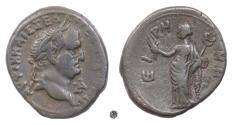 Ancient Coins - VESPASIAN, Egypt.  BI Tetradrachm, 69/70 AD.  Eirene (the goddess of peace)