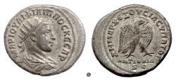Ancient Coins - SYRIA, Antioch.  Philip II, AR Tetradrachm, struck 247 AD. Eagle