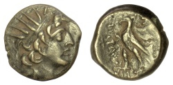 Ancient Coins - SELEUKID KINGS, Antiochos VIII Epiphanes. AE denomination B, Antioch 113/2 BC.