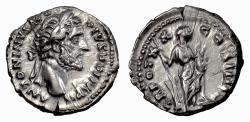 Ancient Coins - Antoninus Pius. AR Denarius, Rome mint. Struck 157 AD