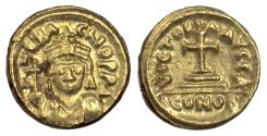 Ancient Coins - BYZANTINE, Heraclius. AV solidus, Carthage mint, year 1 (612/3)