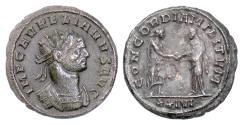 Ancient Coins - Aurelian. BI Antoninianus, Siscia mint, 274 AD