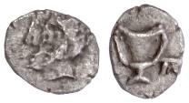 Ancient Coins - Unknown (Thrace?), AR obol. Rare imitative coin?