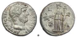 Ancient Coins - HADRIAN, EGYPT, Alexandria. BI tetradrachm, dated year 21 (136/7 AD)