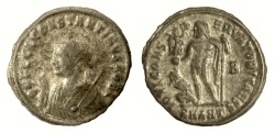 Ancient Coins - CONSTANTINE II. AE 20, Antioch mint, struck 317-320 AD. Jupiter holding Victory