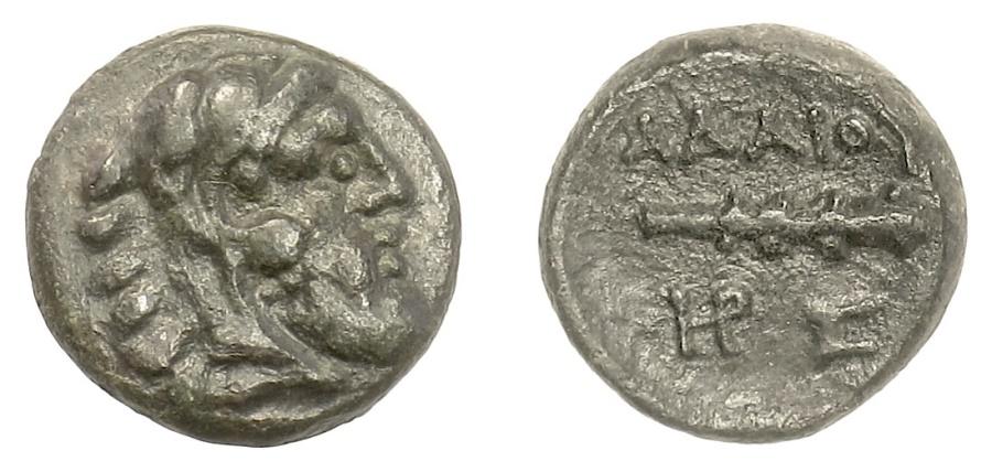Ancient Coins - KINGS of THRACE, Adaios. AE 17, circa 253-243 BC. Herakles / Club
