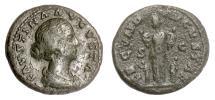 Ancient Coins - Faustina Junior. AE as, Rome mint. Struck under Marcus Aurelius, circa 161-164 AD