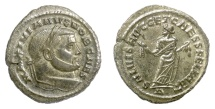 Ancient Coins - Galerius as Caesar. AE follis, Carthage mint, circa 299-303 AD. Carthago