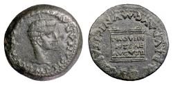 Ancient Coins - TIBERIUS, Roman Provincial; SPAIN, Italica. AE as, 14-37 AD