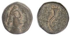 Ancient Coins - SELEUKID KINGS, Demetrios II, first reign. AE denomination B. Rare