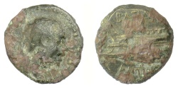 Ancient Coins - SELEUKID KINGS, Antiochos III 'the Great'. AE denomination C, 222-187 BC. Scarce