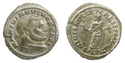 Ancient Coins - Galerius as Caesar. AE follis, Carthage mint, circa 299-303 AD. Carthago