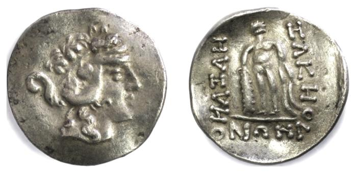 Ancient Coins - Celtic imitation of ISLANDS off THRACE, Thasos. AR Tetradrachm, late 2nd-1st centuries BC