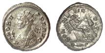 Ancient Coins - Probus. Antoninianus. Rome mint, AD 281. Sol driving quadriga