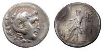 Ancient Coins - Alexander III 'the Great'. AR tetradrachm, AEOLIS, Temnos. Circa 188-170 BC