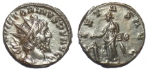 Ancient Coins - Victorinus. Antoninianus, Colonia Agrippina (Cologne) mint, AD 270. Pietas