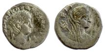 Ancient Coins - Roman EGYPT / Alexandria. OTHO. BI Tetradrachm. Dated RY 1 (AD 69)