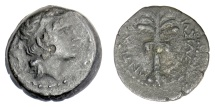 Ancient Coins - SELEUKID KINGS, Antiochos III 'the Great'. AE denomination D, Tyre mint. Struck 198-187 BC