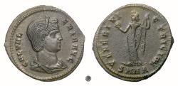 Ancient Coins - GALERIA VALERIA.  AE follis, Nicomedia mint, 308-310 AD.  Venus