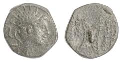 Ancient Coins - SELEUKID KINGS, Antiochos IV. AE denom C, Antioch, 175-164 BC. Medusa. RARE