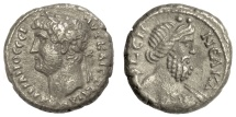 Ancient Coins - HADRIAN.  EGYPT, Alexandria. BI Tetradrachm. Dated RY 19 (AD 134/135)