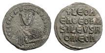 Ancient Coins - BYZANTINE, Leo VI the Wise. AE follis, 886-912