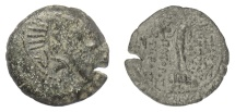Ancient Coins - SELEUKID KINGS, Demetrios III Eukairos. AE denomination B, Damaskos mint, 97-87 BC