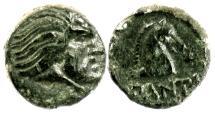 Ancient Coins - CIMMERIAN BOSPOROS, Pantikapaion. Circa 340-325 BC. SCARCE