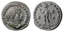 Ancient Coins - CONSTANTINE I. AE follis, Lugdunum mint. Struck 313-314 AD. Sol