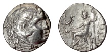 Ancient Coins - Alexander III 'the Great'. AR tetradrachm, THRACE, Mesambria. Circa 150-125 BC
