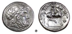 Ancient Coins - Philip II of Macedon.  AR tetradrachm, eastern european imitation