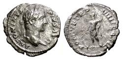 Ancient Coins - Caracalla. AR denarius, Rome mint, struck 206 AD.