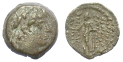 Ancient Coins - SELEUKID KINGS, Antiochos XII Dionysos. AE denomination C. Damaskos mint. Struck 87-85 BC