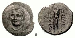 Ancient Coins - THESSALY, Perrhaiboi. AE trichalkon, 4th century BC