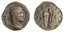 Ancient Coins - Maximinus I. AE sestertius. Rome mint, AD 236-237