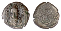 Ancient Coins - Elymais, Phraates. AE drachm, early-mid 2nd century AD. Unpublished variant?