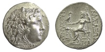Ancient Coins - KINGS of MACEDON. Alexander III 'the Great'. AR Tetradrachm. Mesembria mint. Struck circa 150-125 BC