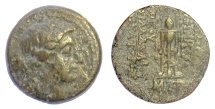 Ancient Coins - SELEUKID KINGS, Demetrios II Nikator. AE denomination B, Antioch on the Orontes mint, 146-5 BC