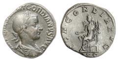 Ancient Coins - GORDIAN III. AE sestertius, Rome mint. Struck 239 AD. Concordia
