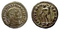 Ancient Coins - Maximianus. AE follis. Cyzicus mint, AD 297-299