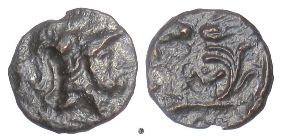 Ancient Coins - THRACE, Lysimacheia. AE 11, circa 309-220 BC