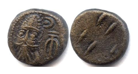 Ancient Coins - ELYMAIS, Orodes II, AE drachm, early 2nd century AD