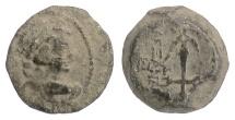 Ancient Coins - SELEUKID KINGS, Alexander II Zabinas. AE denom C, Antioch, 128 BC. Eros / Anchor RARE