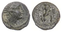 Ancient Coins - SELEUKID KINGS, Antiochos IV Epiphanes. AE chalkous, 175-164 BC