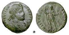 Ancient Coins - JOVIAN.  AE 27mm, Thessalonica mint, 363-364 AD.  Jovian